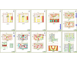 رساله بیمارستان و فاز2 اجرایی آن و نقشه ها